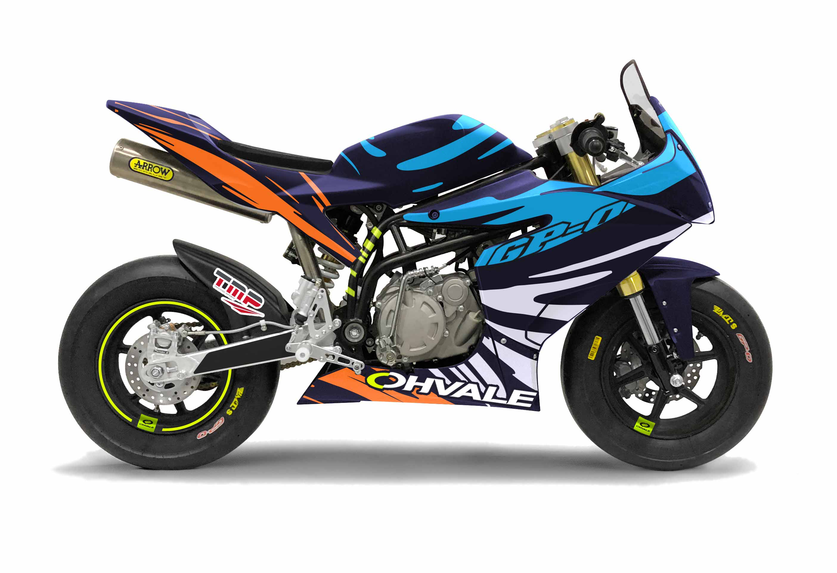 OHVALE GP-0 110 4S Motorrad Minibike - Bike Smith